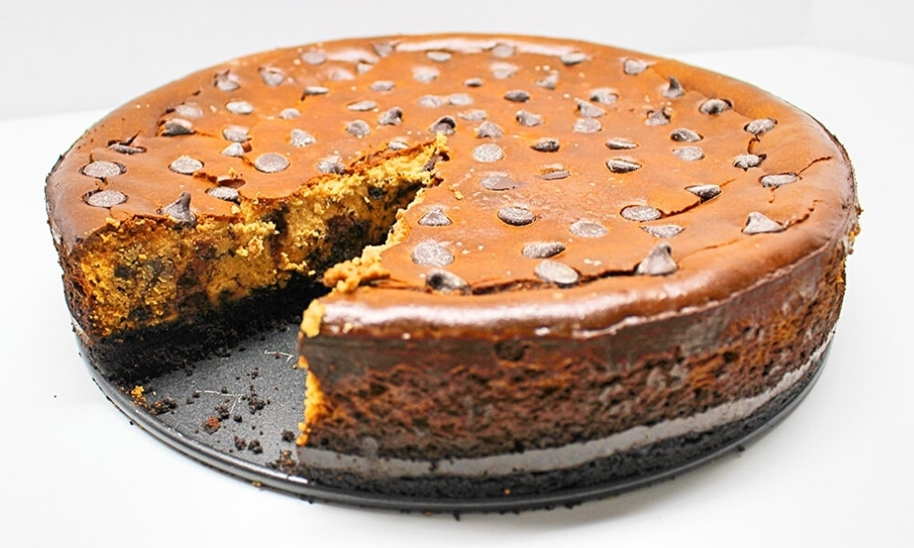 Lactose-Free Chocolate Chip Cheesecake Recipe