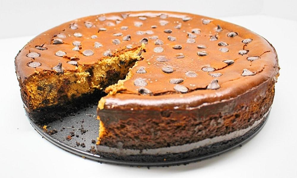 Lactose-Free Chocolate Chip Cheesecake Recipe