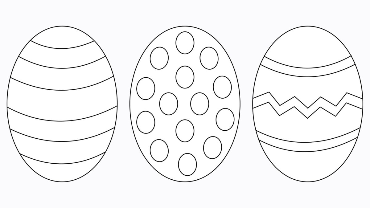 Free Easter Egg Template 8 Easy Crafts The Craft At Home Family