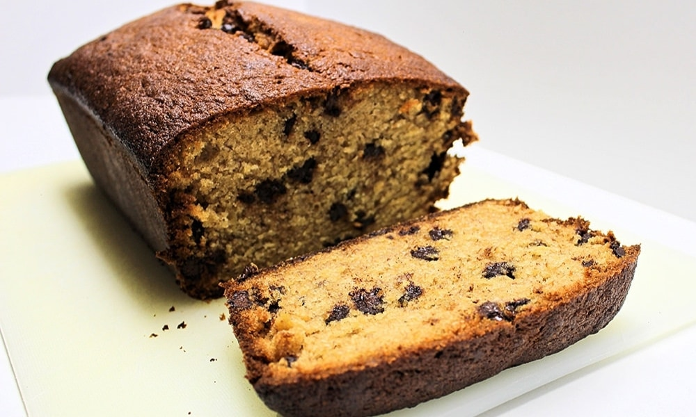 Spiced Chocolate Chip Banana Bread Recipe