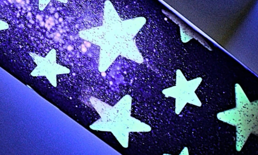 Starry Night Sensory Bottle with Glow-in-the-Dark Stars