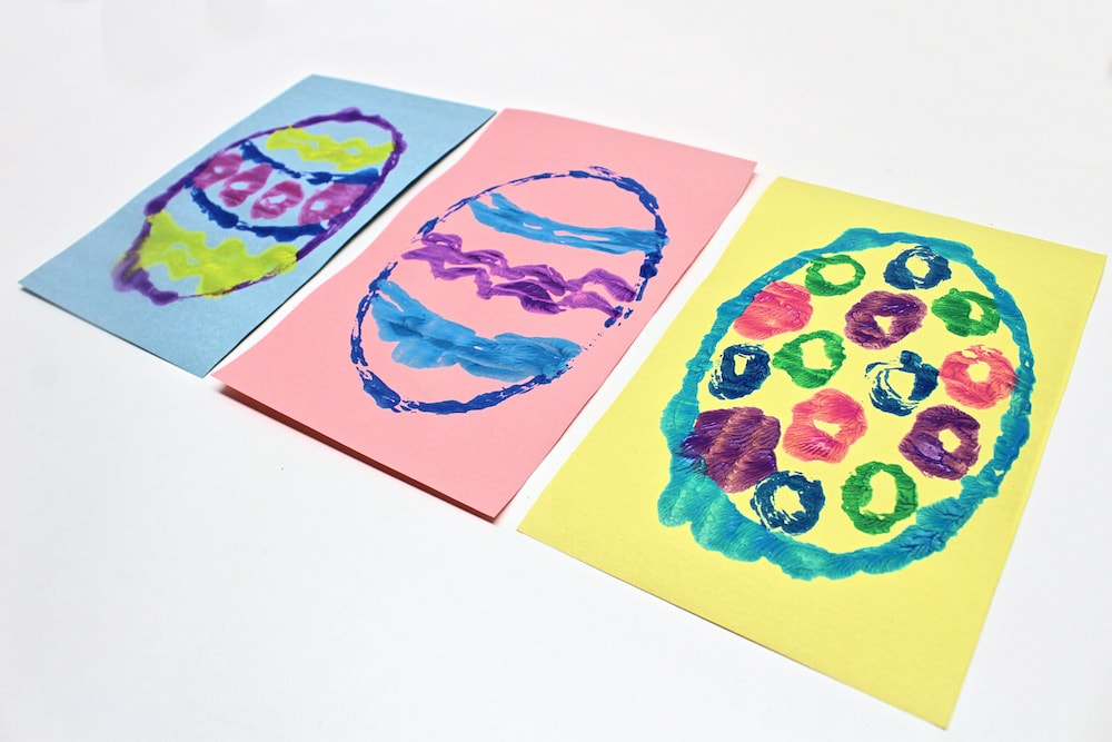 Easter Egg Symmetry Painting Prints