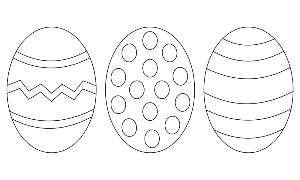 Free Easter Egg Printable and Craft Ideas