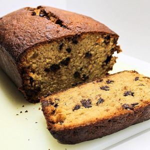 Chocolate Chip Banana Bread Recipe with Fall Spices