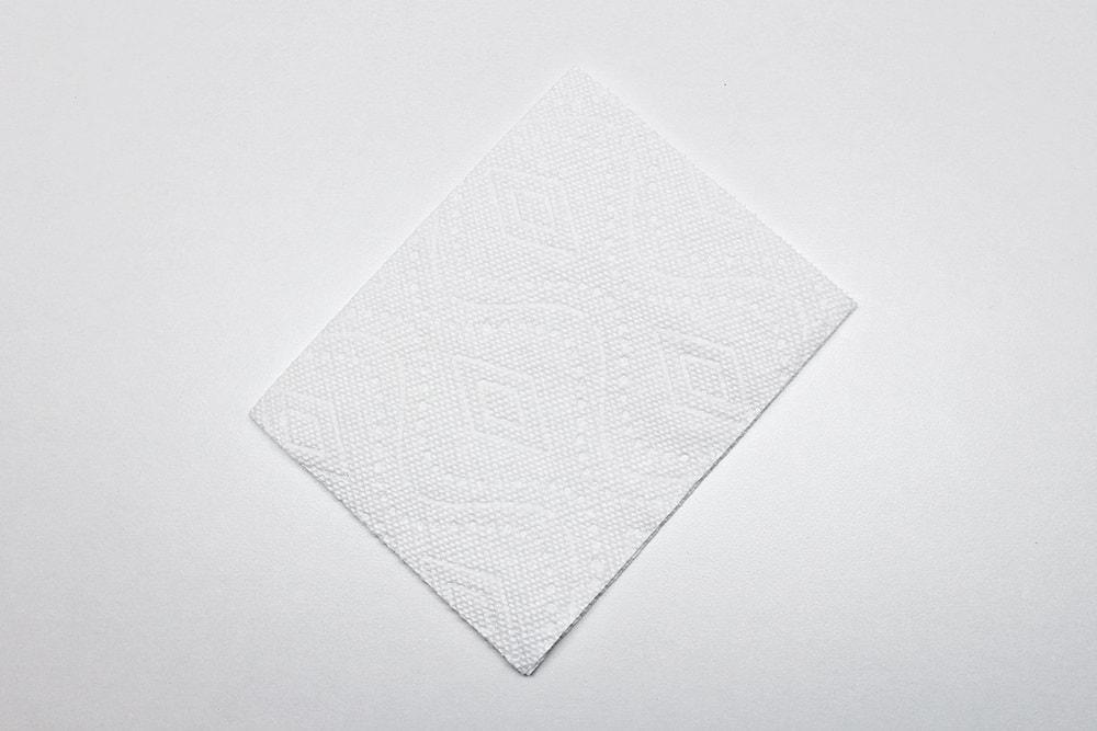 Fold Paper Towel in Half