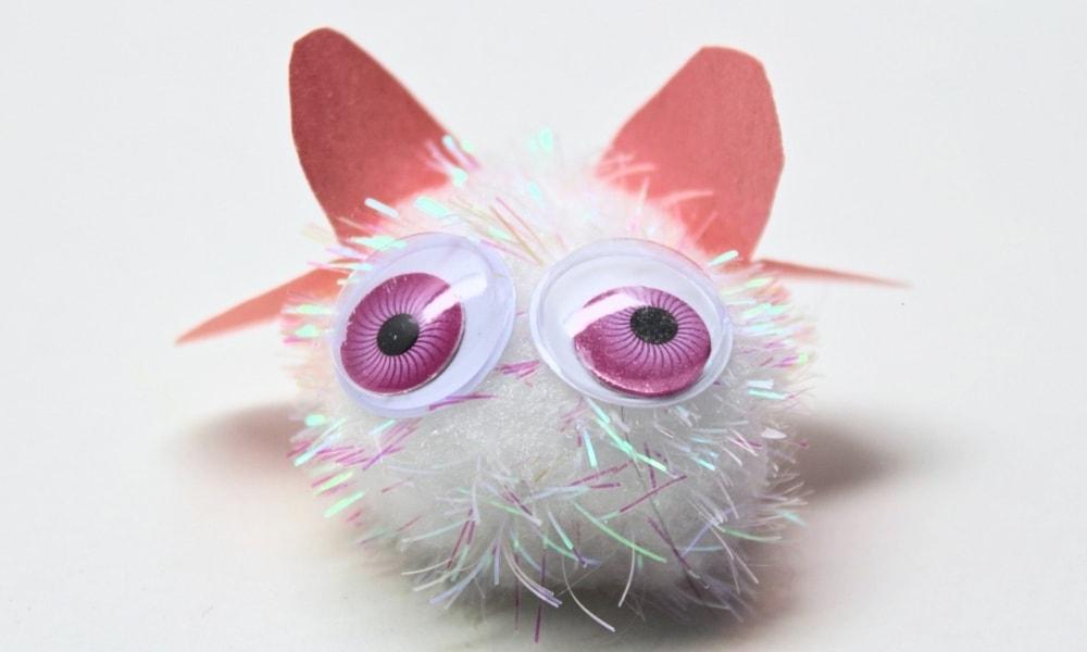 Valentine's Day Pom-Pom Love Bugs