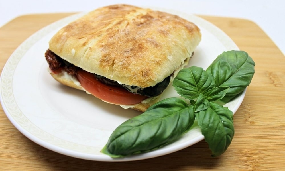Grilled Sun-Dried Tomato & Goat Cheese Sandwich