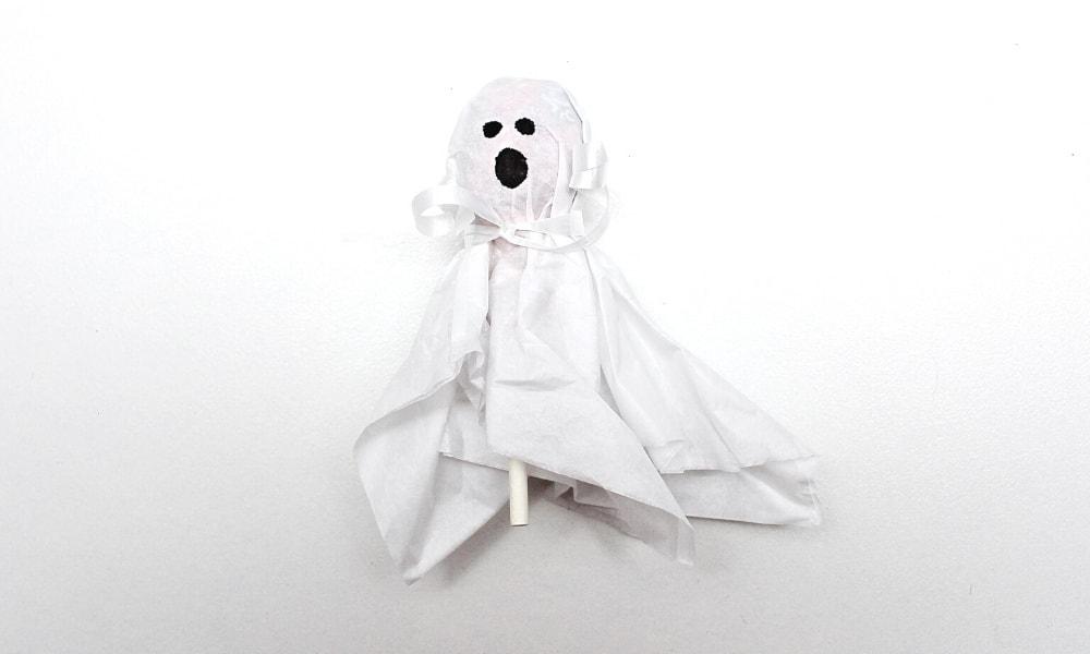 Ghost Lollipop Craft for Kids
