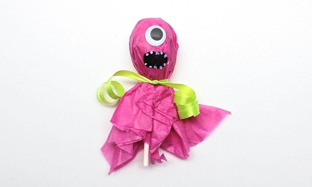 Monster Lollipop Craft for Kids