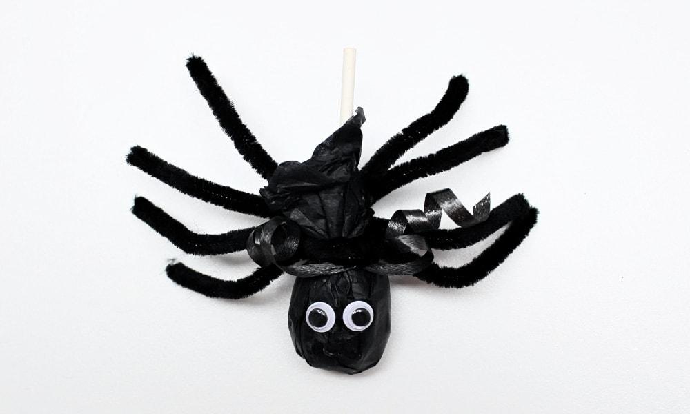 Spider Lollipop Craft for Kids