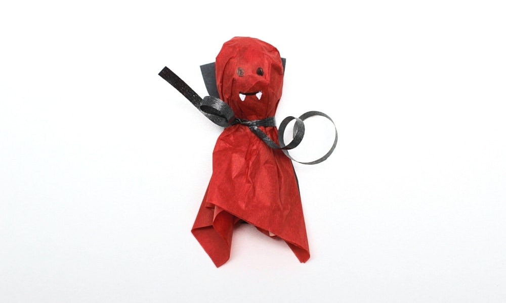 Vampire Lollipop Craft for Kids